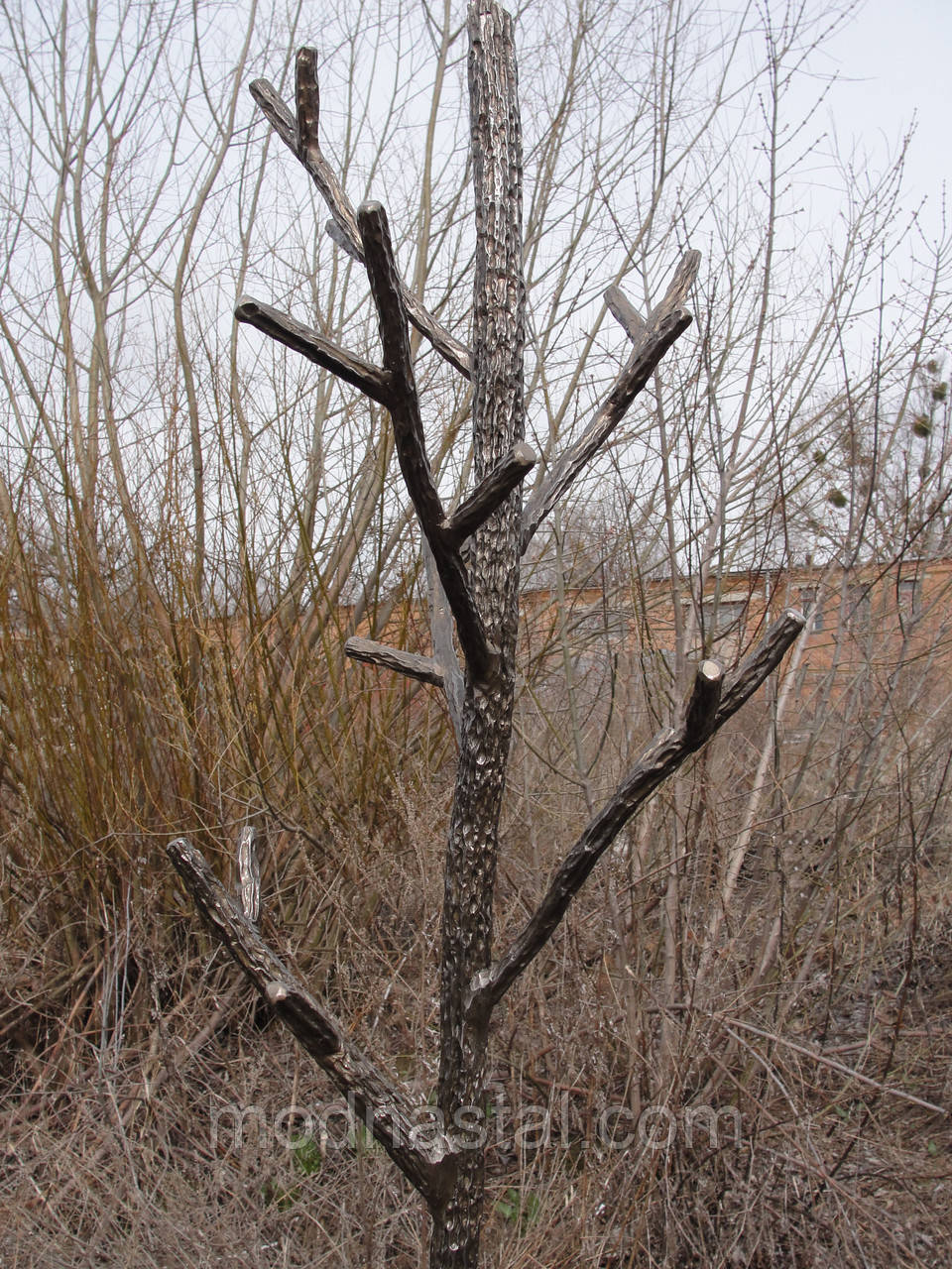 """Вешалка кованая, стилизованная под """"дерево"""", фото 1"""
