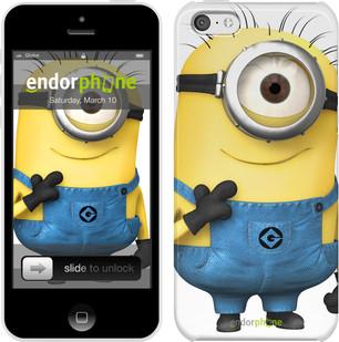 """Чехол на iPhone 5c Миньон v9 """"1575c-23"""""""