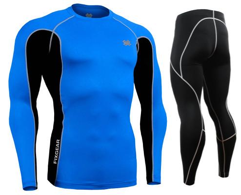 Комплект Рашгард Fixgear и компрессионные штаны CTR-BCL+P2L-BS