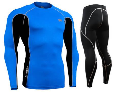 Комплект Рашгард Fixgear и компрессионные штаны CTR-BCL+P2L-BS, фото 2