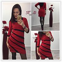 Женское платье в полоску у-51032604