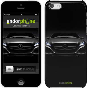 "Чехол на iPhone 5c Mercedes Benz 3 ""976c-23"""