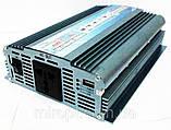 Перетворювач напруги 2500W 12/220В (інвертор), фото 2