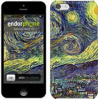 "Чехол на iPhone 5c Винсент Ван Гог. Звёздная ночь ""163c-23"""