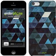 """Чехол на iPhone 5c Треугольники """"2859c-23"""""""