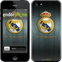 "Чехол на iPhone 5s Real Madrid 3 ""995c-21"""