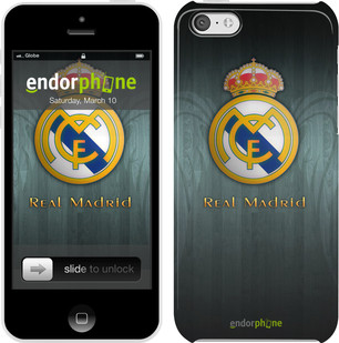 "Чехол на iPhone 5c Real Madrid 3 ""995c-23"""