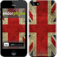 """Чехол на iPhone 5s Флаг Великобритании 3 """"402c-21"""""""