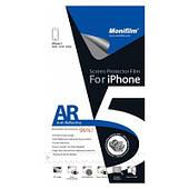 Защитная пленка Monifilm для Apple iPhone 5/5S/5C (front + back), AR - глянцевая