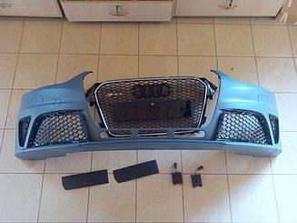 Передній бампер Audi A4 з 2013 року в стилі Audi RS4