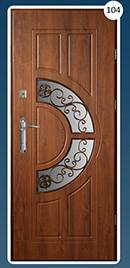 Входные двери с ковкой Стандарт 104