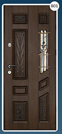 Входные двери с ковкой Стандарт 801
