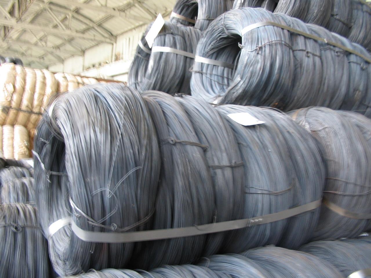 Проволока стальная оцинкованная Гост 3282-74 ф4,0  мм купить цена доставка