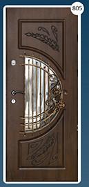 Входные двери с ковкой Стандарт 805