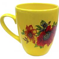 Чашка Европа лимон с деколью 400 мл Славянск 50198
