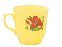 Чашка Сумы лимон с деколью 350 мл. Славянск 50203