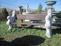 Лавка для сада Грифон