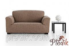 Чохол на диван натяжна 3-х місний Іспанія, Andrea Brown Андреа коричневий
