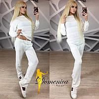 Вязаный женский спортивный костюм (много расцветок) z-615366