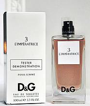 Демонстраційний тестер Dolce & Gabbana 3 L ' Imperatrice Tester (репліка)