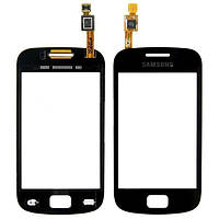 Сенсор (тачскрин) Samsung S6500 Galaxy Mini 2 черный