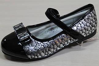 Туфли лаковые для девочки черные перламутровые тм Том.м р.27,29, фото 3