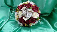 Свадебный букет-дублер из роз