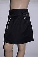 Школьная юбка черного цвета для девочки