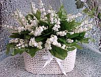 Искусственные цветы Ландыши букет