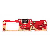 Шлейф для мобильного телефона HTC Desire 600 c разъемом зарядки и микрофоном