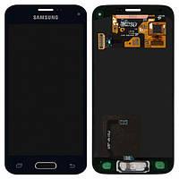 Дисплей (экран) для Samsung G800H Galaxy S5 mini + с сенсором (тачскрином) Оригинал черный