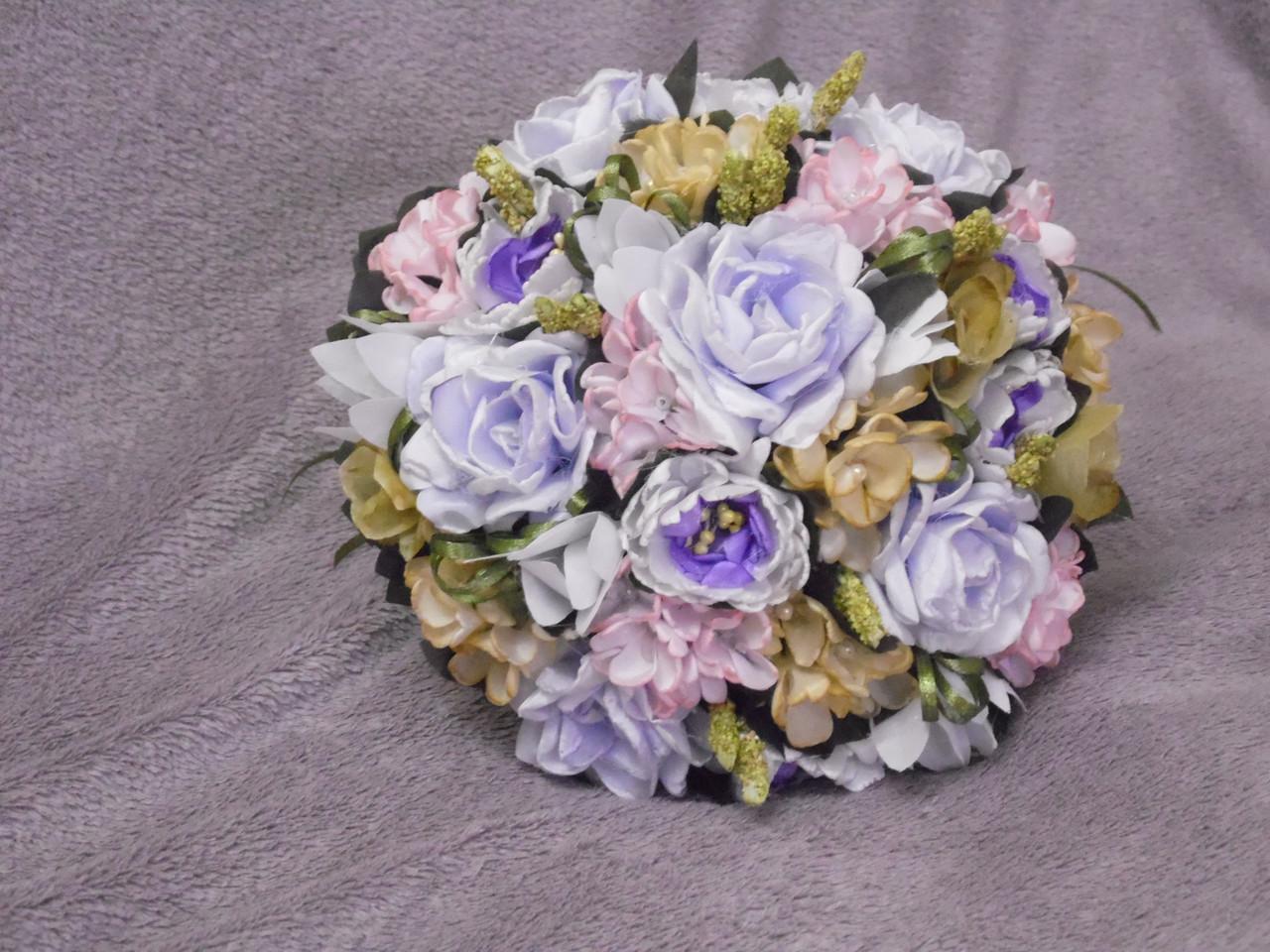 Свадебный букет-дублер сиреневый - Магазин свадебной и вечерней моды Miss Darri в Харькове