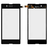 Сенсор (тачскрин) для Sony D2202 Xperia E3, D2203 Xperia E3, D2206 Xperia E3 черный