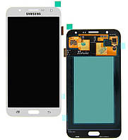 Дисплей для Samsung J700F/DS Galaxy J7, J700H/DS Galaxy J7, J700M/DS Galaxy J7 + с сенсором (тачскрином) White