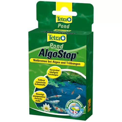 Tetra Pond AlgoStop средство для предотвращения появления водорослей, 12 капсул - Интернет-зоомагазин Royal Zoo в Харькове