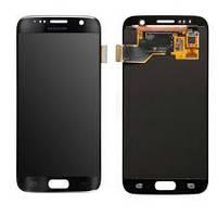 Дисплей (экран) для Samsung G930F Galaxy S7 + с сенсором (тачскрином) Оригинал черный