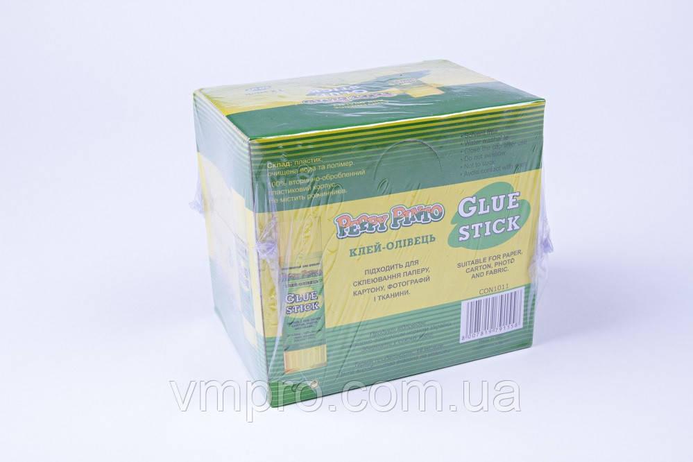 Клей-олівець Peppy Pinto 40 грам, №1012,клей для паперу,картону,тканини.Упаковка 12 шт
