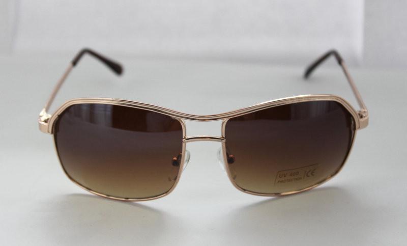 Стильные прямоугольные солнцезащитные очки для мужчин