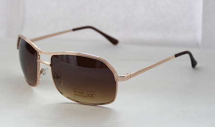 Стильные прямоугольные солнцезащитные очки для мужчин, фото 2