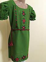 Сукня вишита для дівчинки ручної роботи 10-12 років, фото 1