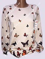 Весенняя женская кофта с рисунком 77285