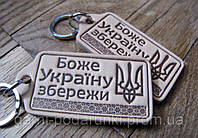 Брелки из кожи Боже Україну збережи, фото 1