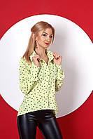 Женская рубашка в принт сердечки, фото 1