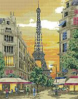 Набор для вышивания крестиком Эйфелева башня 35х42 см (арт. MK042)
