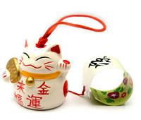 Колокольчик Счастливый кот музыка ветра