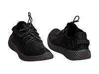 Женские черные легендарные кроссовки копия Adidas Yeezy Boost 350 Vices