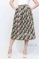 Яркая летняя юбка Carica 3202