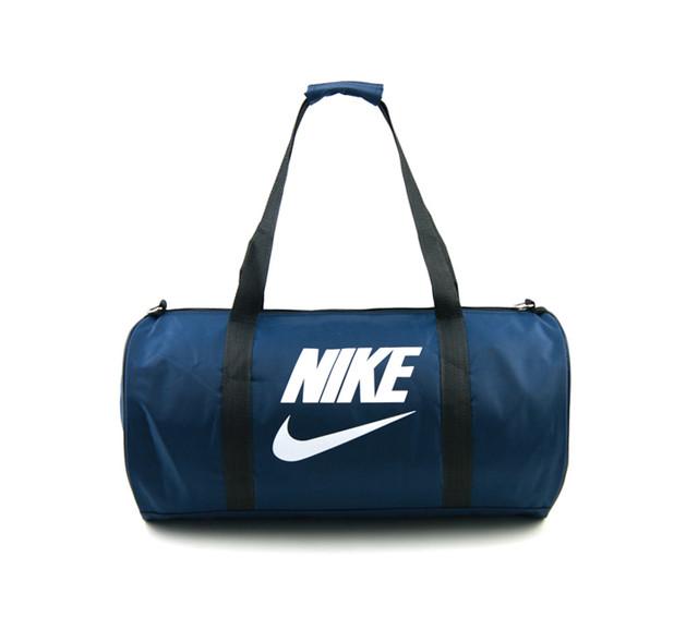 Спортивная сумка Nike | синяя | вид спереди