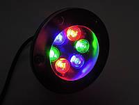 Светодиодный подводный прожектор LED 2006 RGB (контр)