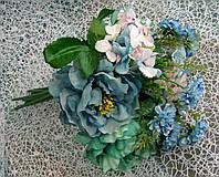 Искусственные цветы букет из 10 стеблей